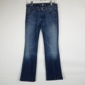 7 For All Mankind flare-legged jeans